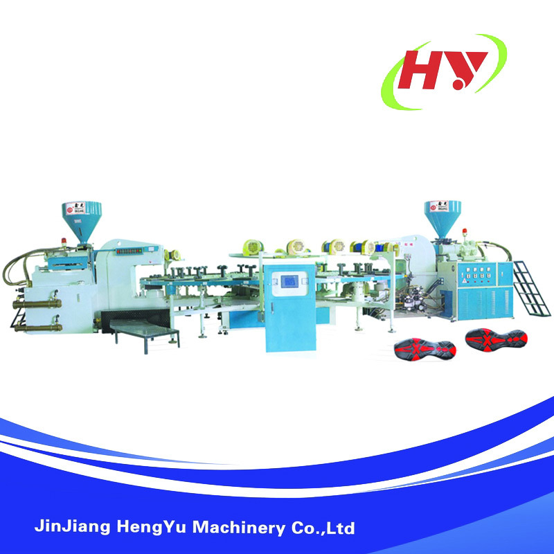 TPR Plastic Soles Injection Moulding Machine