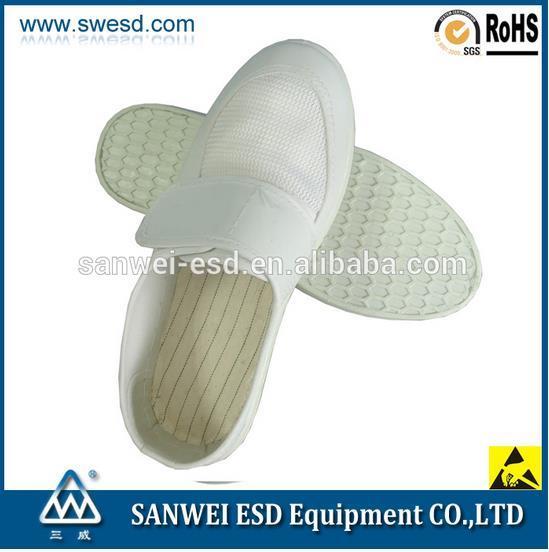 ESD Spu Foaming Antistatic Cleanroom Shoe (3W-9107)