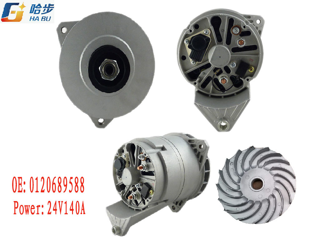 AC / Auto Alternator for Mercedes-Benz 0120689588 24V140A