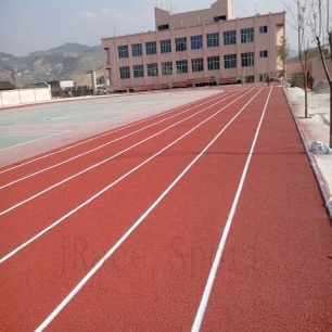 Solvent-Free Full Polyurethane Tracks Sport Surface