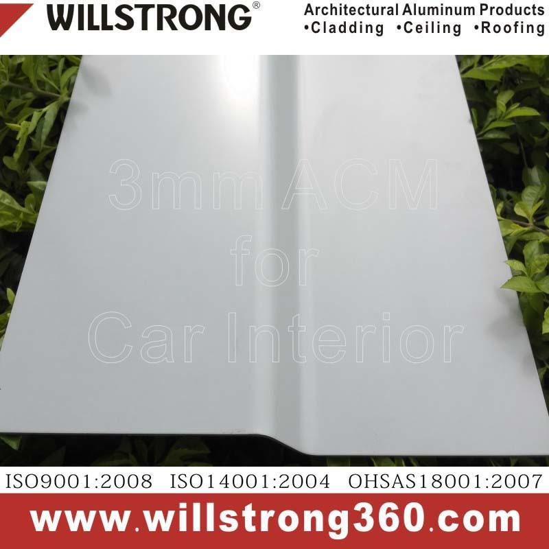 3mm & 4mm Thick Sign Aluminium Composite Materials
