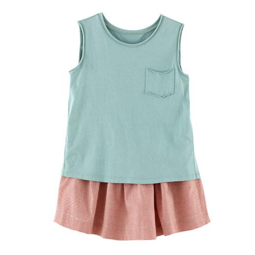 100% Cotton Summer Children Garment for Girls