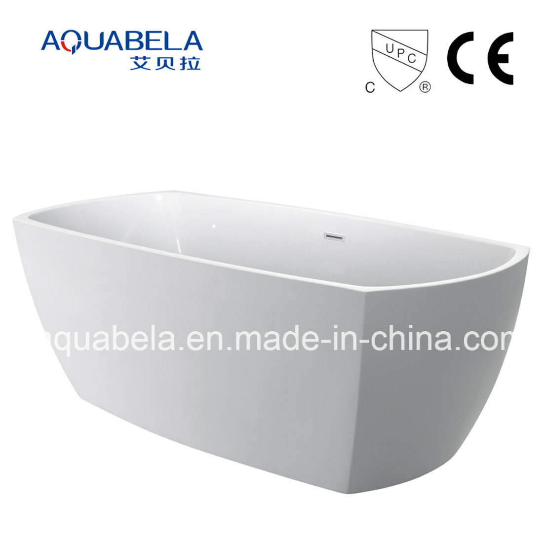 2017 New Ce/Cupc Acrylic Seamless Sanitary Ware Bath Tub (JL655)