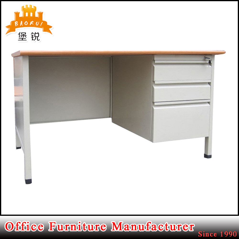Office Furniture Metal and MDF Top Computer Steel Office Desk