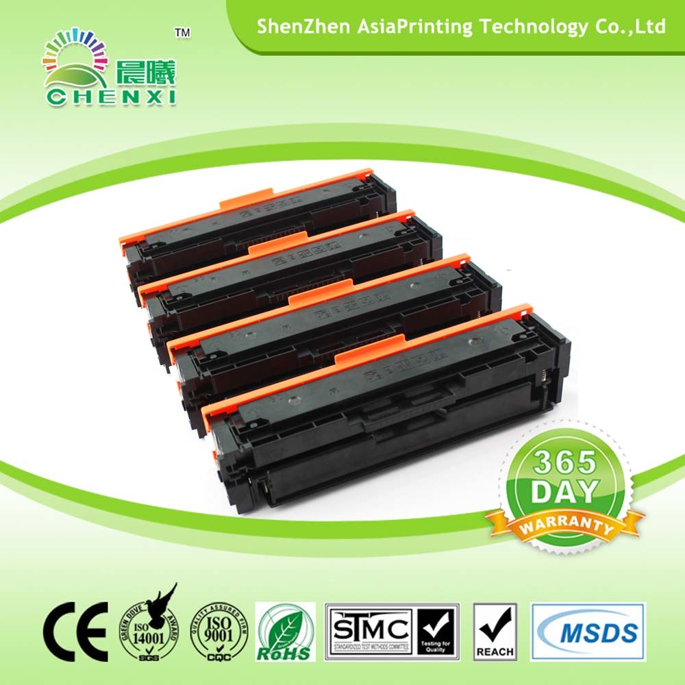 Compatible Color Toner Cartridge for CF410X-CF411A-CF412A-CF413A