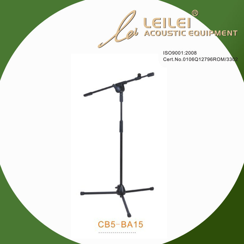Height Ajustable Table Microphone Stand (CB5-BA15)
