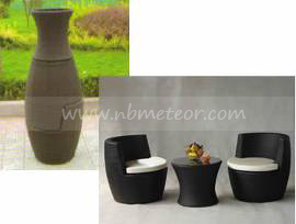 Mtc-089 Outdoor Garden Bistro Coffee Table and Chair