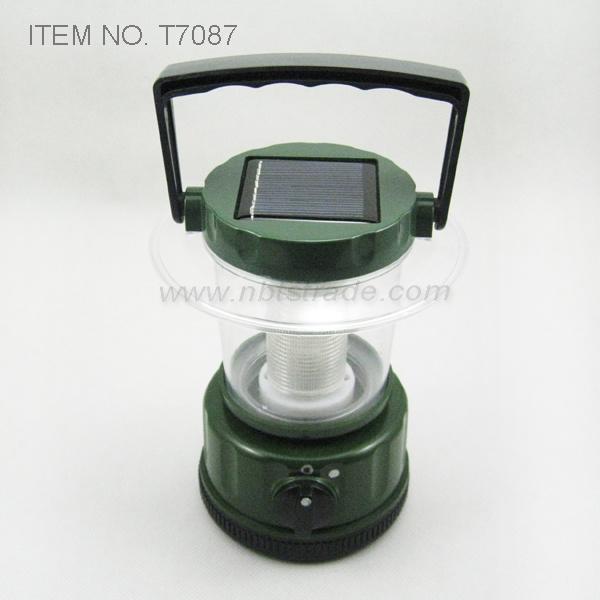 Solar LED Camping Light (T7087)