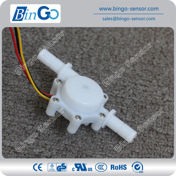 Plasitc Flow Sensor for Water Heater, Coffee Machiness