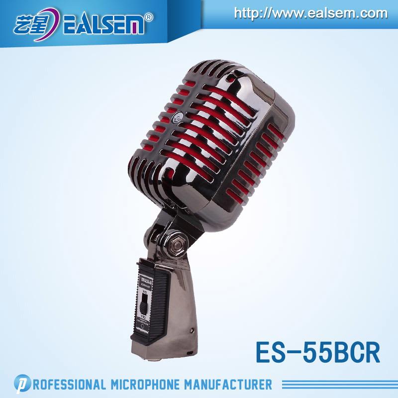 Wire Dynamic Chorus Microphone KTV Music Microphone
