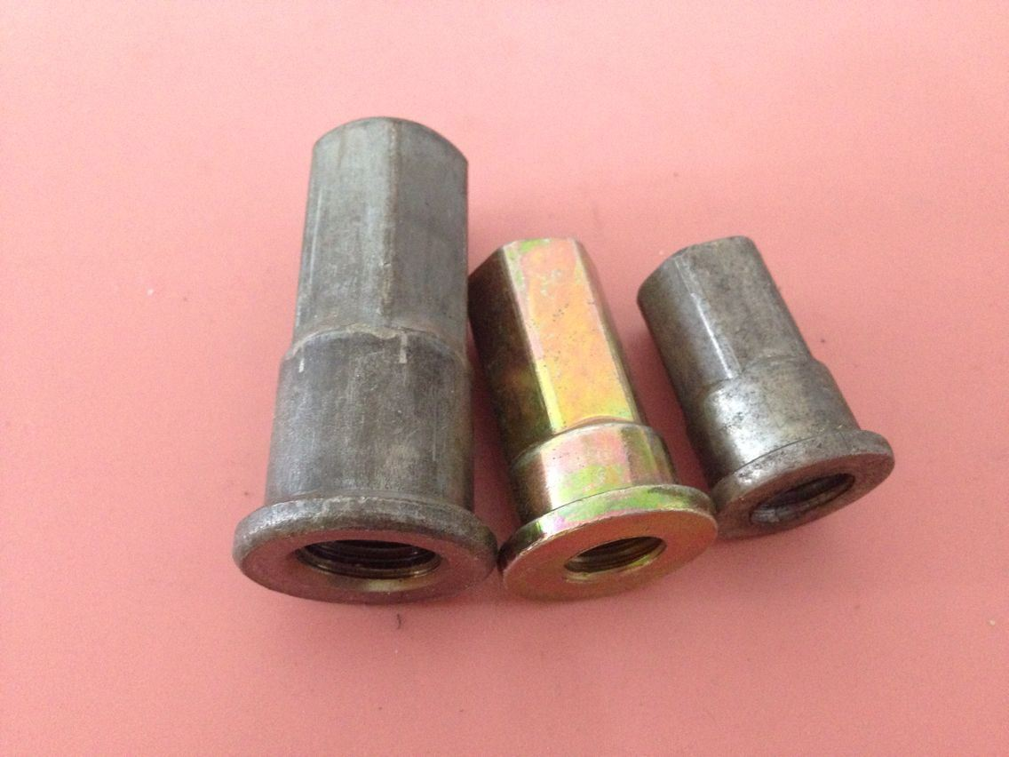 Black Zinc Plating Stainless Steel D Nut/Six Nut