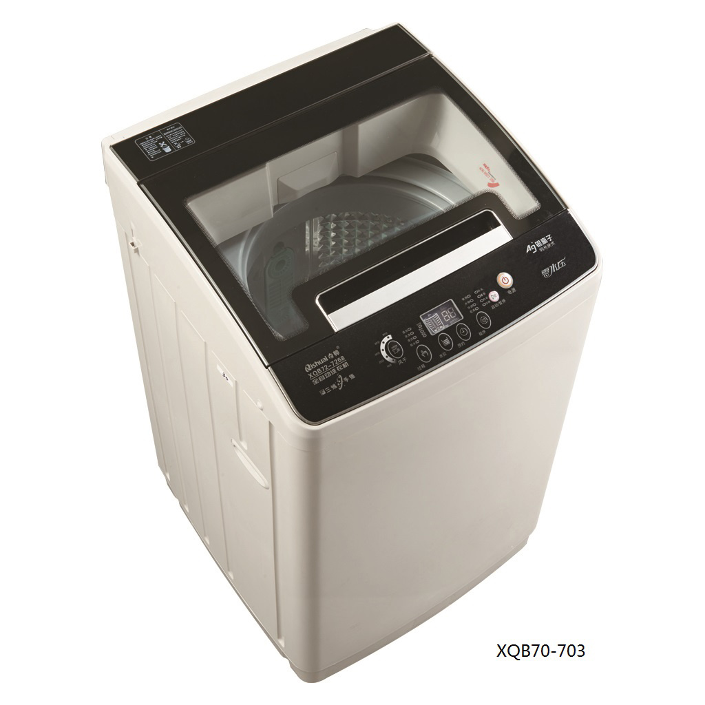 7.0kg Fully Atuo Washing Machine (plastic body/glass lid) XQB70-703
