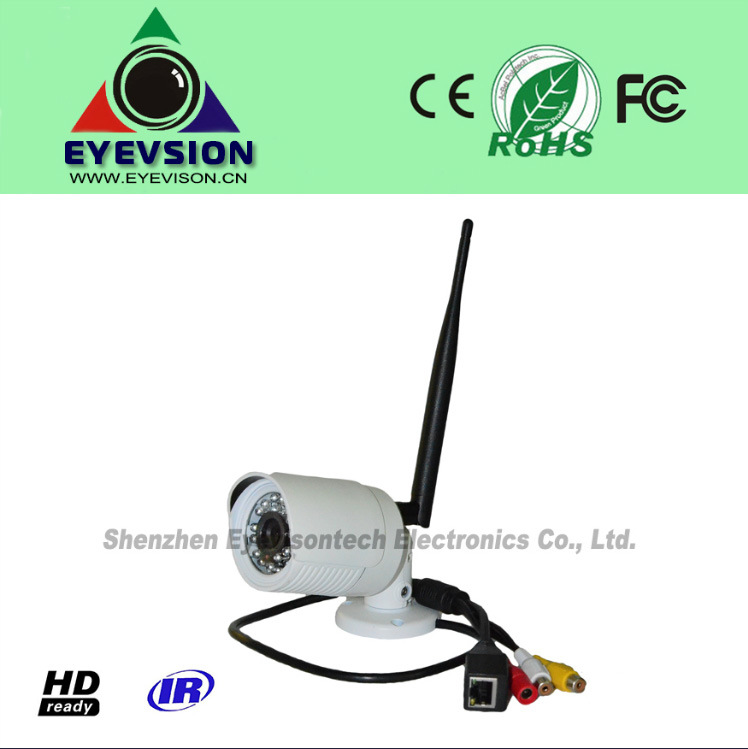 1.0MP HD (720p) IP IR Mini Home Security Camera (EV-HMIFI1001-IR)