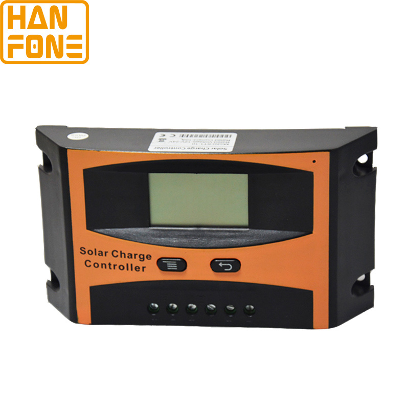 10A PWM Solar Charge Controller LCD Display Panel Regulator 12V/24 (ST1-10A)