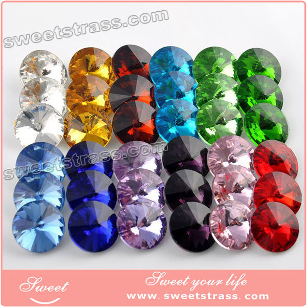 Wholesale Garment Accessories Fancy Sew on Stone Crystal Glass Rhinestone