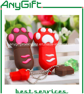 Customized Shaped PVC USB Stick with One-Class Chip 10
