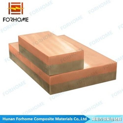 Bimetallic Copper-Aluminum Clad Plates Low Cost