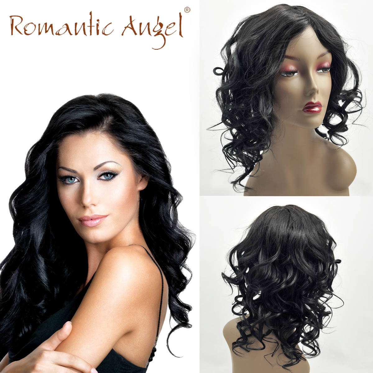 100% Unprocessed Indian Human Hair Wigs Long Body Wave Natural Wave