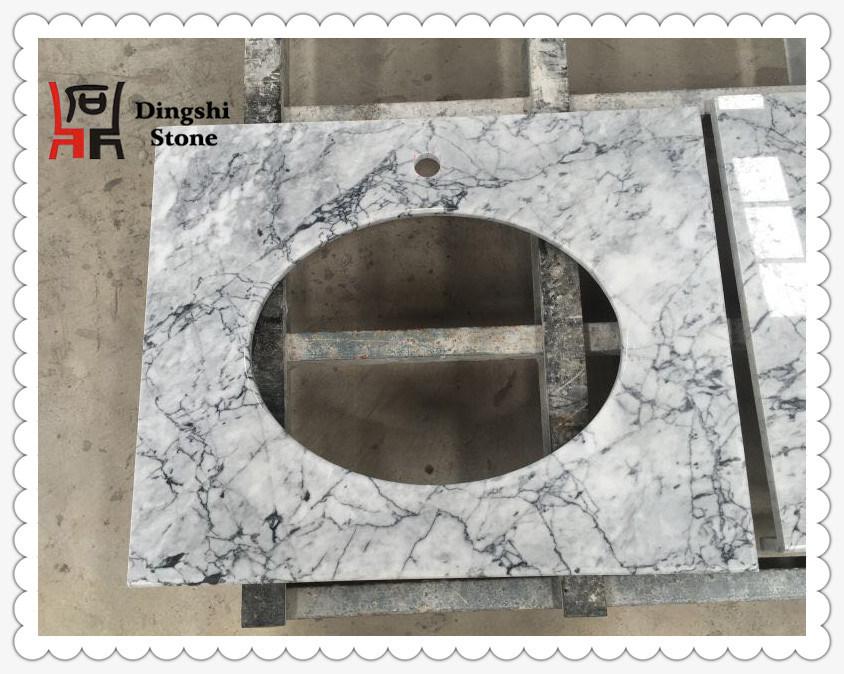 Grey Marble Vanity Top/ Countertop