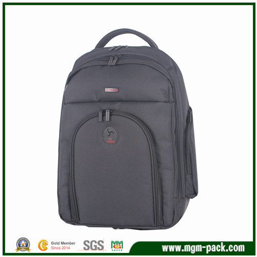 Fashion Nylon Black Shoulders Computer Backpack
