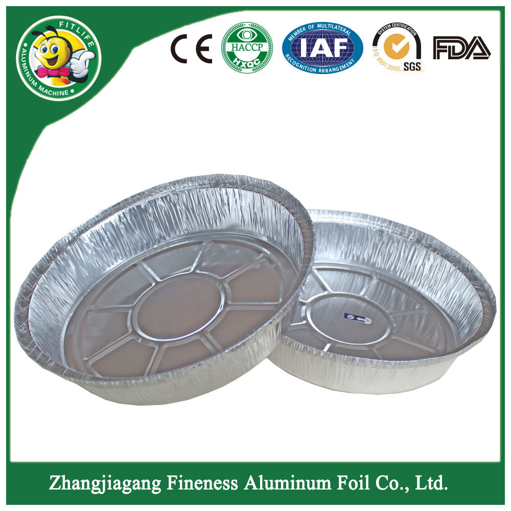 Aluminum Foil Container Tray Plate for Barbecue