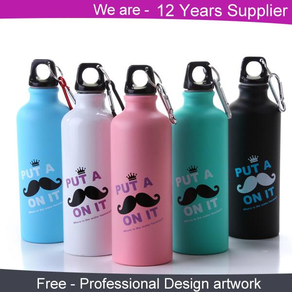 Aluminum Sport Water Bottle BPA Free