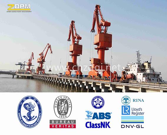 Port Shipyard Mobile Luffing Jib Crane for Lifting