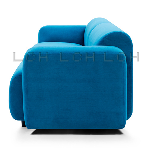 Fabric and Comfort Swell Two Seater Sofa European Style