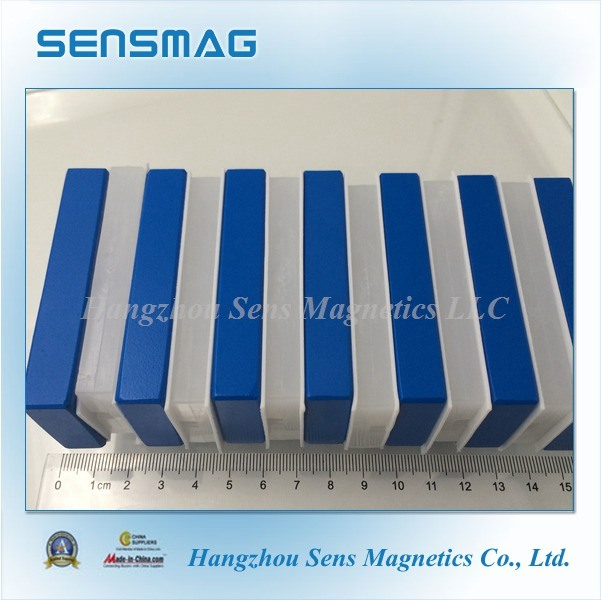 Powerful Permanent NdFeB Neodymium Block Magnet with Teflon Coating for Motor
