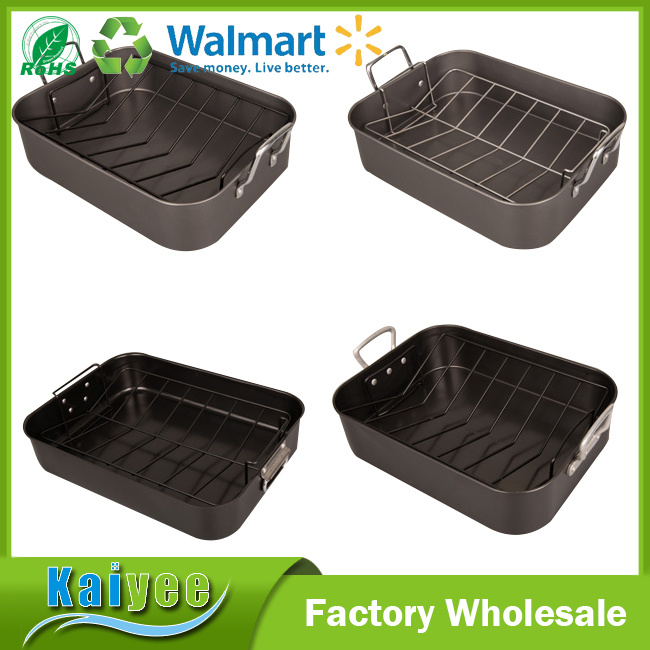 Ovenware Nonstick Bakeware Roasting Pan with Removable Rack