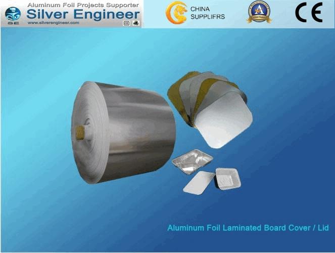 Laminated Aluminium Foil Paper Cover/ Lid