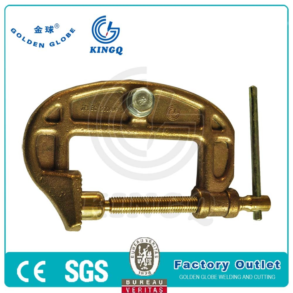 Golden Globe 300A Holland Type TIG Ground Clamp Earth Clamp Plant