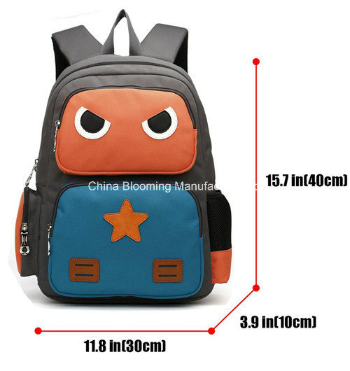 Kids Student Cartoons Book School Backpack Double Shoulder Bag