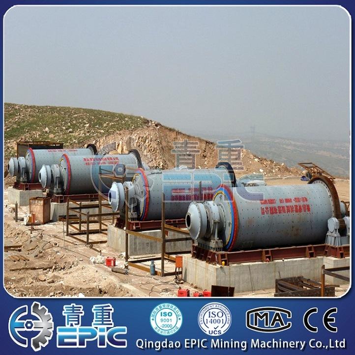 China Silica Sand Ball Mill Manufacturer