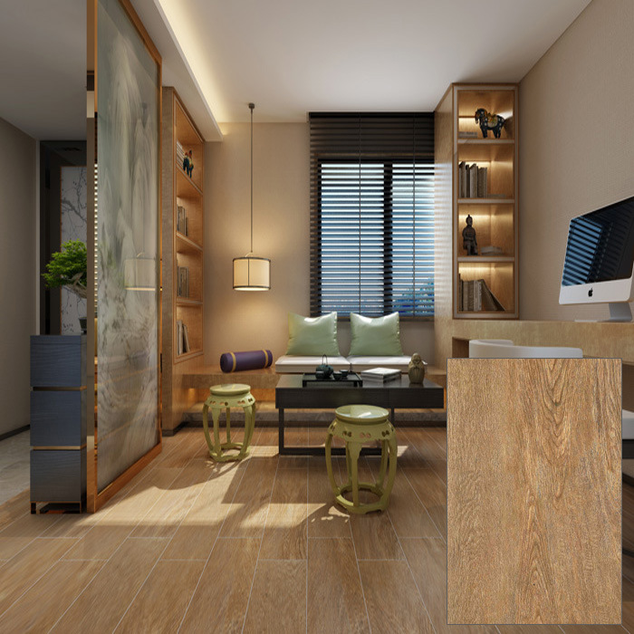 Study Room Use Ceramic Wooden Floor Tile (DK6905)