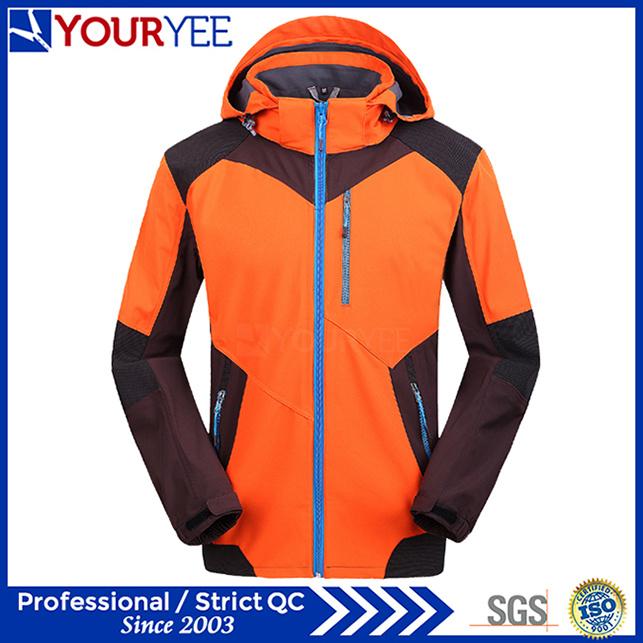 Custom OEM ODM Fashion Softshell Jacket with Hood (YRK118)