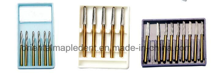Dental Titanium Plated Endo-Z Carbide Burs