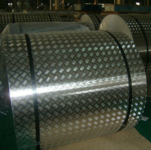 Anti-Slippy Aluminum Checkered Plate Tread Plate Floor Plate One Bar, Five Bar