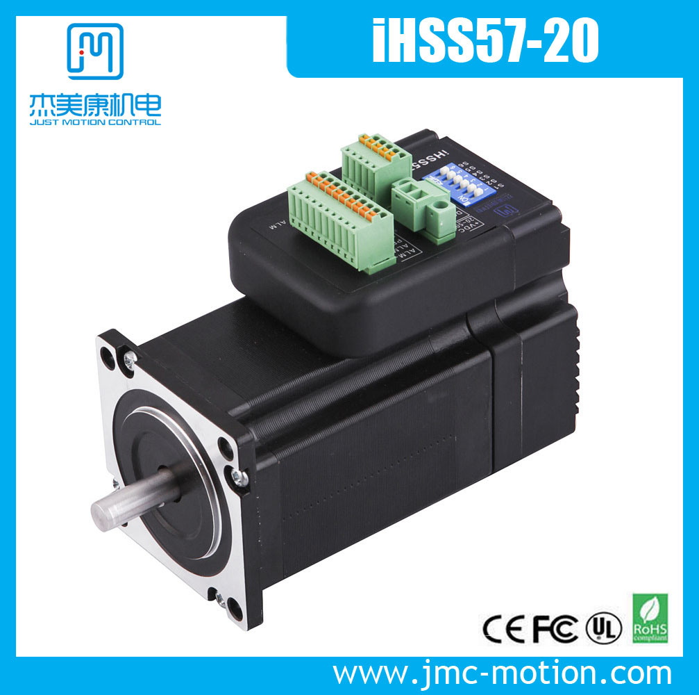 Compact Size Integrated Stepper Servo Motor and Easy Installation