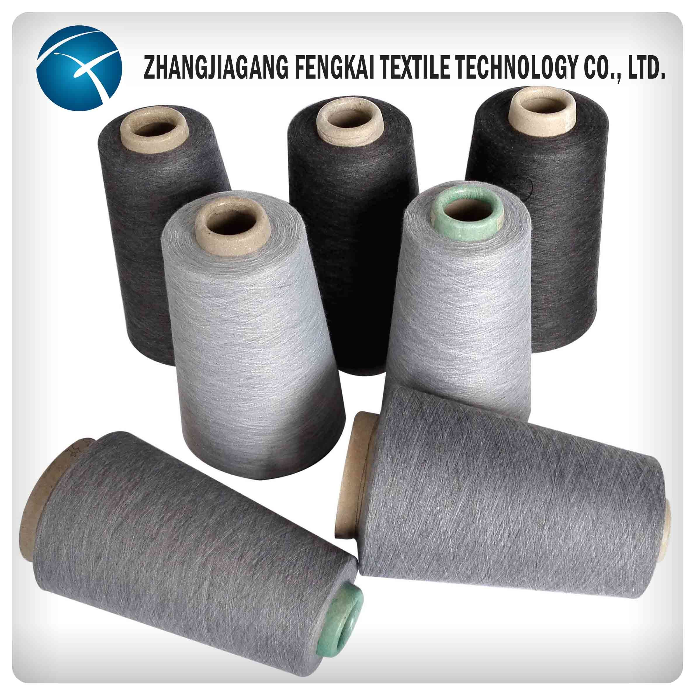 High Quality Polyester Spun Yarn