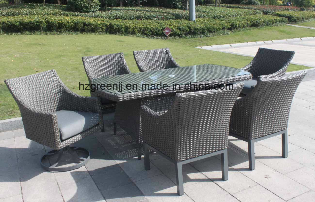 0040 10mm Half Moon Curve Flat Wicker Furniture with Thickness Seat Cushion