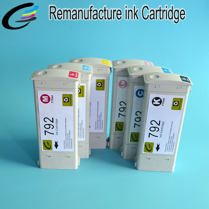 High Quality Reborn Ink Cartridge for HP Latex L26100 L26500 L28500 Ink Cartridge 792
