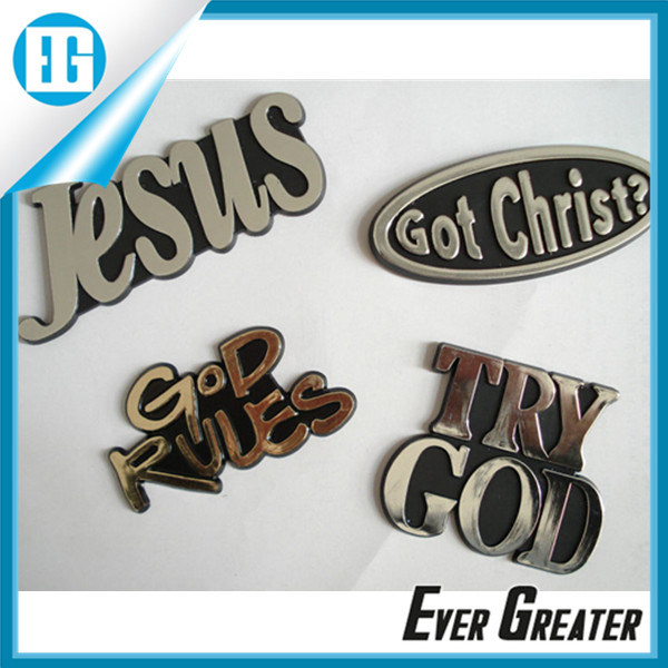 Christian Jusus Fish Sticker Emblems OEM