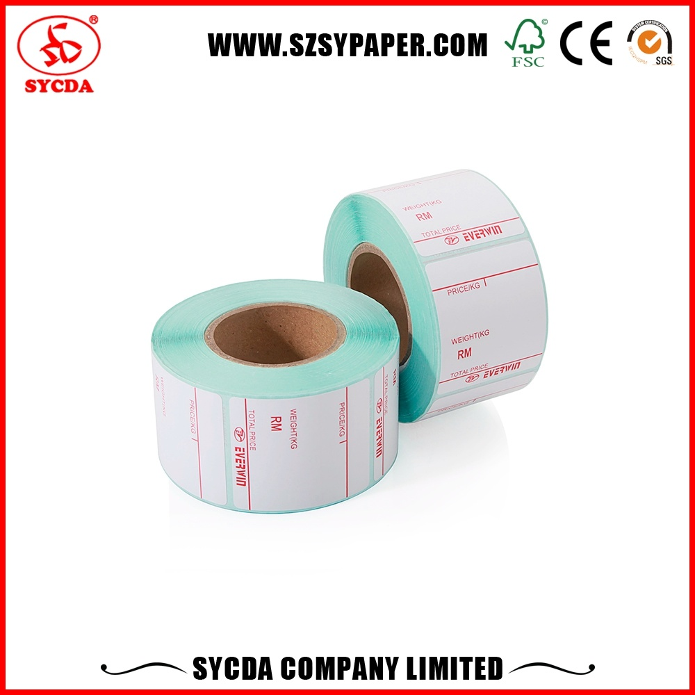 White Sticker Labels Materials Self Adhesive Paper