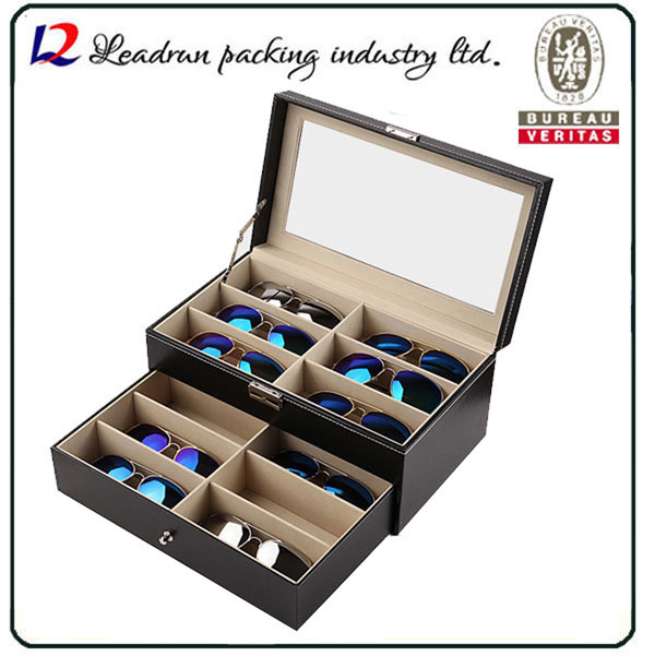 Luxury Good Quality Sunglasses Eyewear Display Box Showing Case (X035)