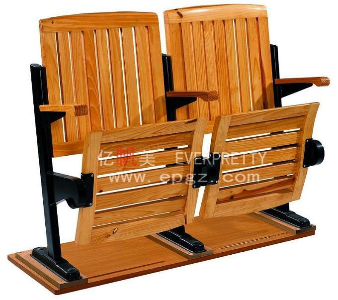 School Furniture for School Wooden College Folding Step Chair