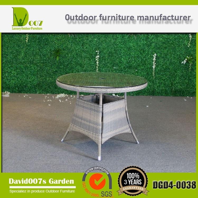 Garden Wicker Rattan Furniture Dining Set for Outdoor