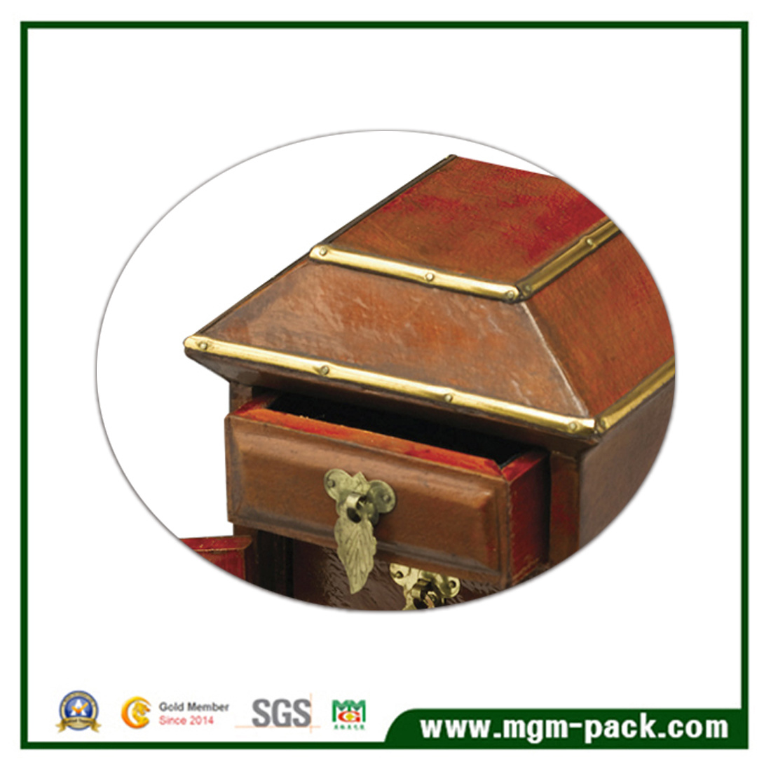 High Quality Luxury High Glossy Lacquer Wooden Jewelry Box