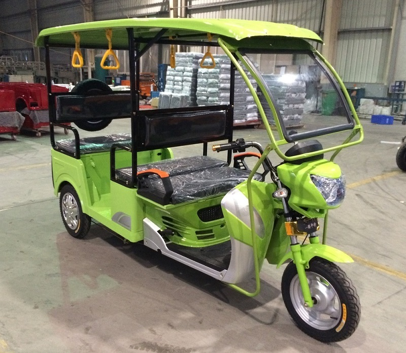 Electric Tricycle Rickshaw Passenger Taxi 2016