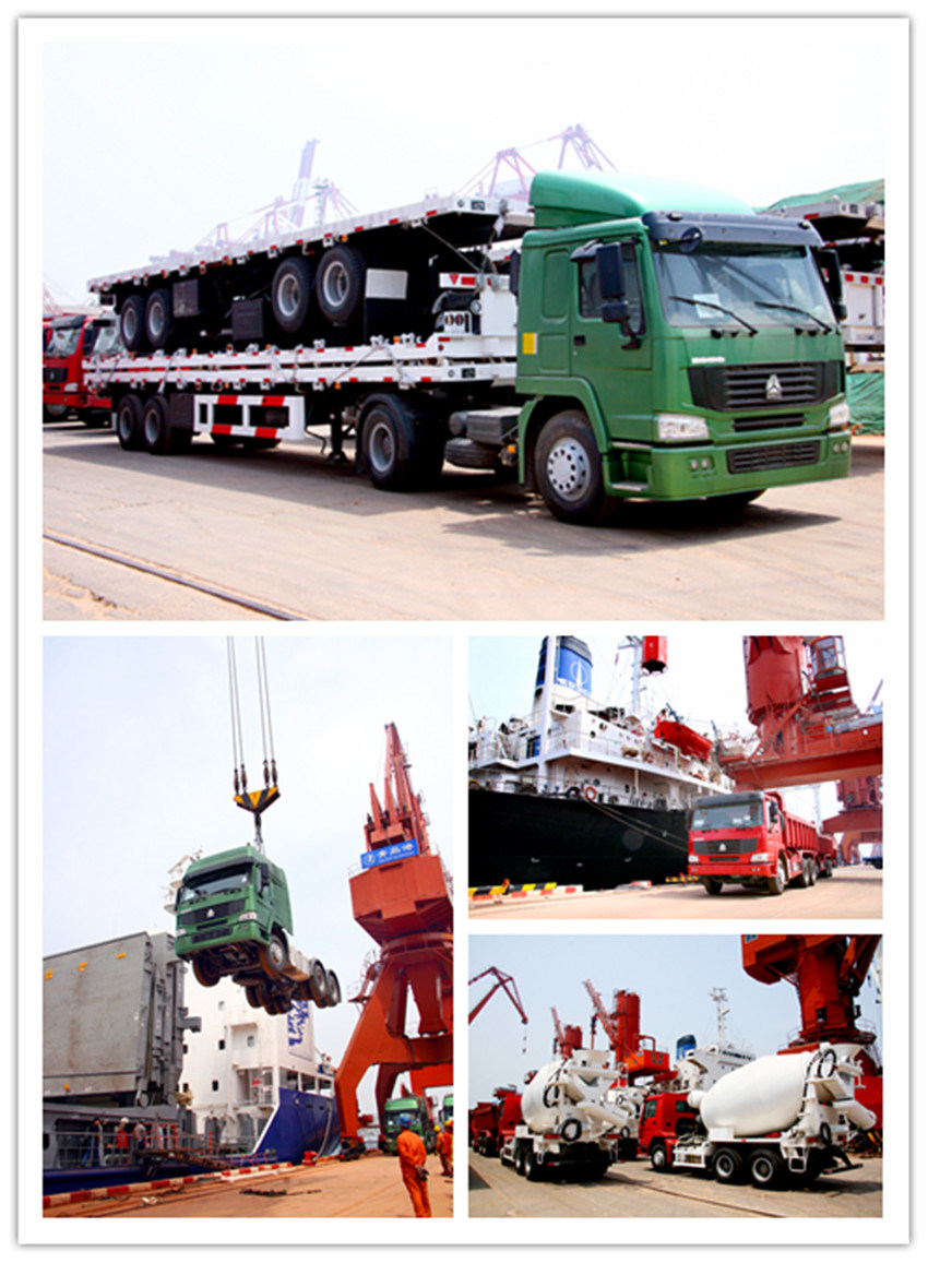 HOWO Concrete Mixer Truck for 8m3 (ZZ1257N3241)